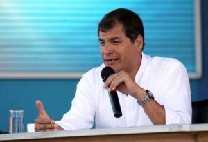Presidente Correa: Renunciamos a las preferencias del ATPDEA porque nuestra dignidad no tiene precio