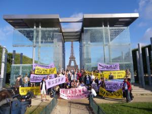 Jeûne-action pour l'abolition des armes nucléaires et en commémoration des bombardements de Hiroshima et Nagasaki