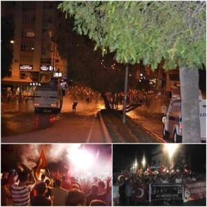 Ancora manifestazioni e scontri ad Adana