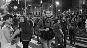 Fotos do Rio de Janeiro: violência policial contra manifestação pacífica no dia 11
