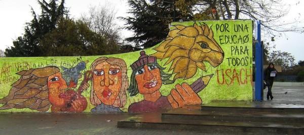 Universidad de Santiago (USACH) en toma, la lucha contra un modelo educativo pinochetista