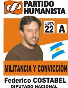 En La Pampa el Partido Humanista propone a Costabel como diputado nacional