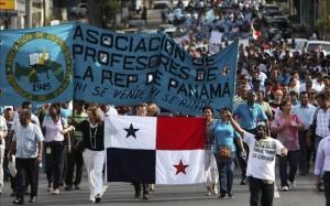 Continua greve de professores no Panamá e amanhã saem às ruas