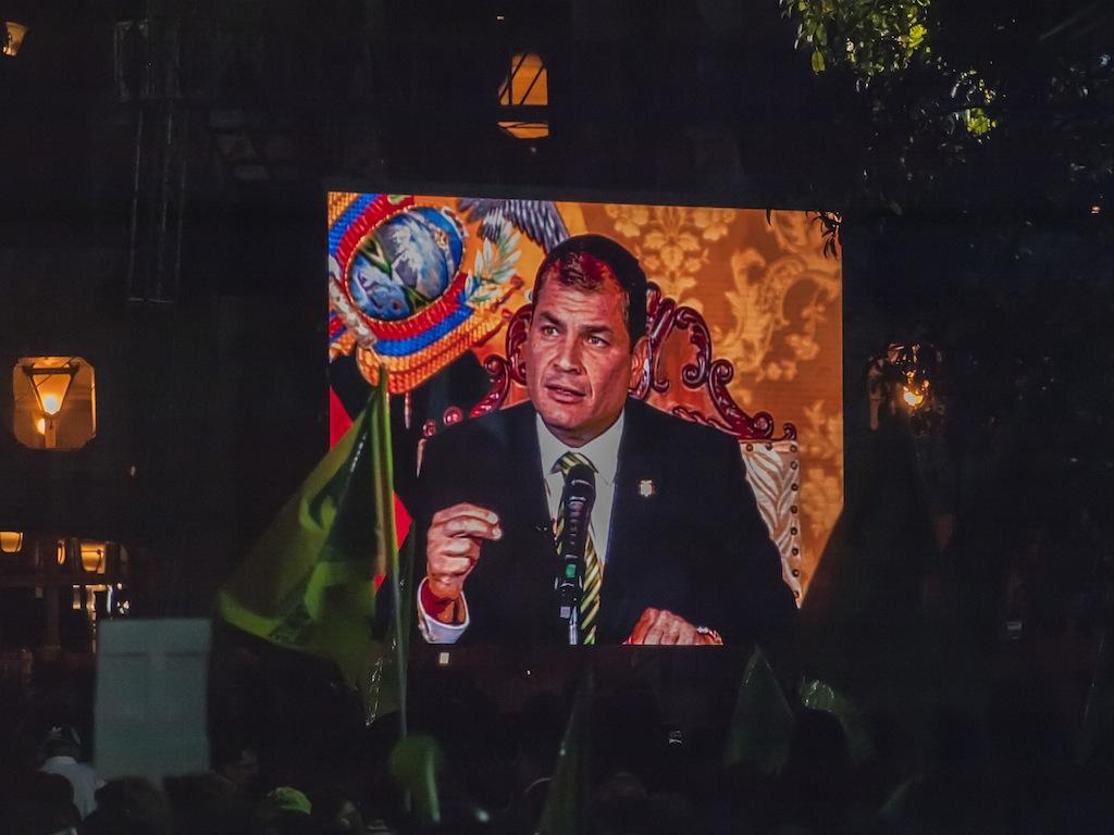 Ecuador  presidente correa