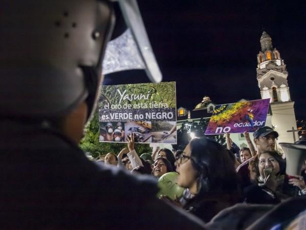Foto reportaje. Ecuador: fin de la Iniciativa Yasuní ITT