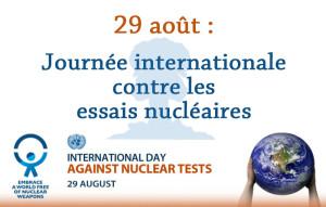 Journée internationale contre les essais nucléaires