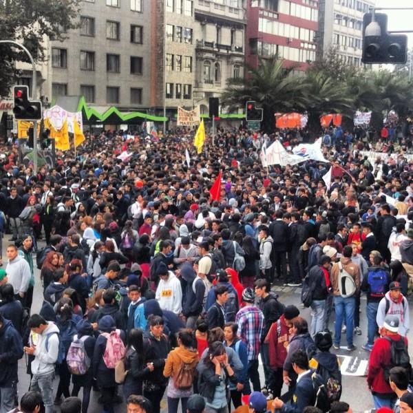 Estudiantes chilenos convocan marcha para el próximo 5 de septiembre