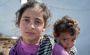 Un millón de niños refugiados, saldo de la crisis siria