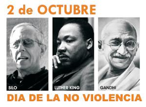 2 octubre: los humanistas celebrarán el Día de la No Violencia
