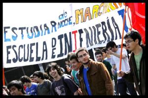 Marcha de estudiantes: «La reconciliación se logra con hechos concretos»