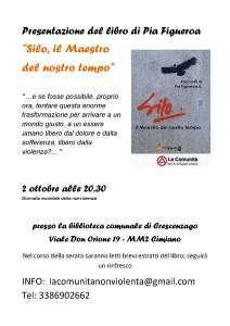 """2 ottobre- """"Il Maestro del nostro tempo"""" alla Biblioteca di Crescenzago a Milano"""
