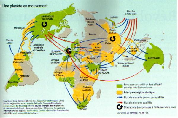 Les migrations au coeur des changements du monde