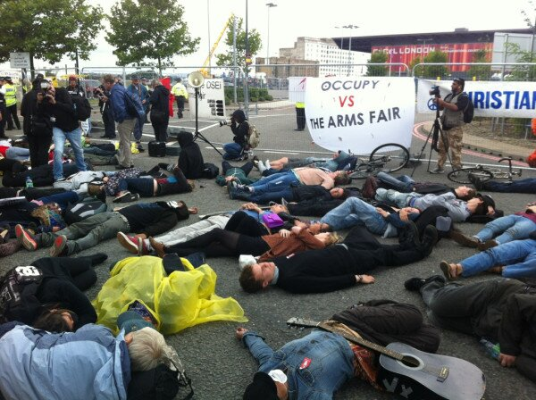 Who should be on trial? Protesters against the London Arms Fair due in Court