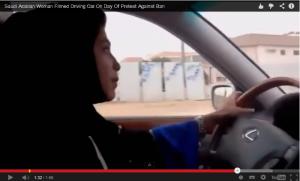 Saudi women day of protest against driving ban