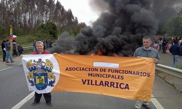 Chile: Municipales del sur alertan sobre petitorio nacional