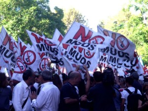 MUOS: le foto della manifestazione a Palermo