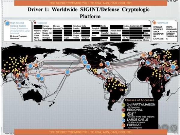50.000 réseaux espionnés par la NSA: Snowden dégaine à nouveau