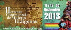 Cumbre de mujeres indígenas por paz e igualdad