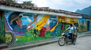 En Toribio, Colombia, se respira arte y paz