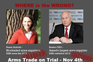 Where is the wrong? Arms trade on trial