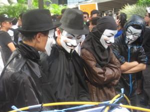Anonymus è un movimento, non un'organizzazione