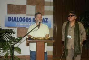 Prossegue busca de acordos nos diálogos de paz para Colômbia
