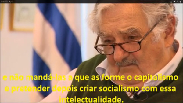 """Pepe Mujica: """"Nós, socialistas, temos que formar nossa gente"""""""