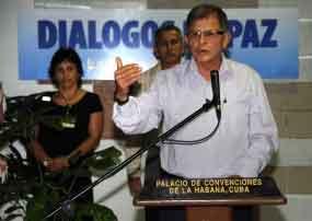 FARC-EP e governo colombiano perto de conseguir um acordo
