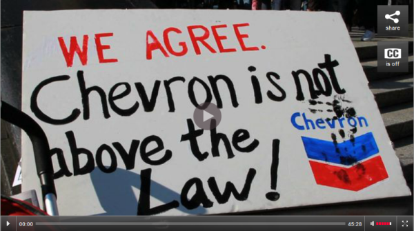 Indigenous Groups Win Right to Seize Chevron's Canadian Assets over $18 Billion in Amazon Pollution