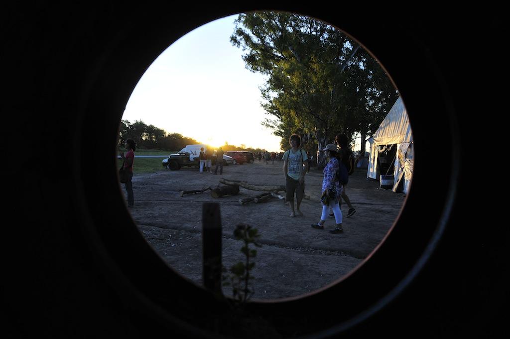 acampada malvinas