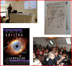 Ouverture du symposium « D'Einstein à Magritte : au-delà de nos vérités »
