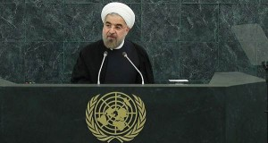 Rouhani calls for a world against violence and extremism