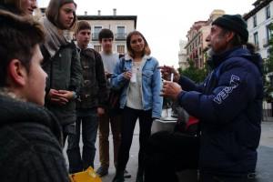 Un desayuno solidario en Madrid
