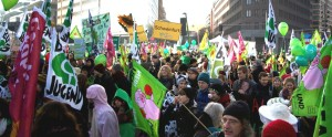 Massive protests in Berlin against agricultural industry