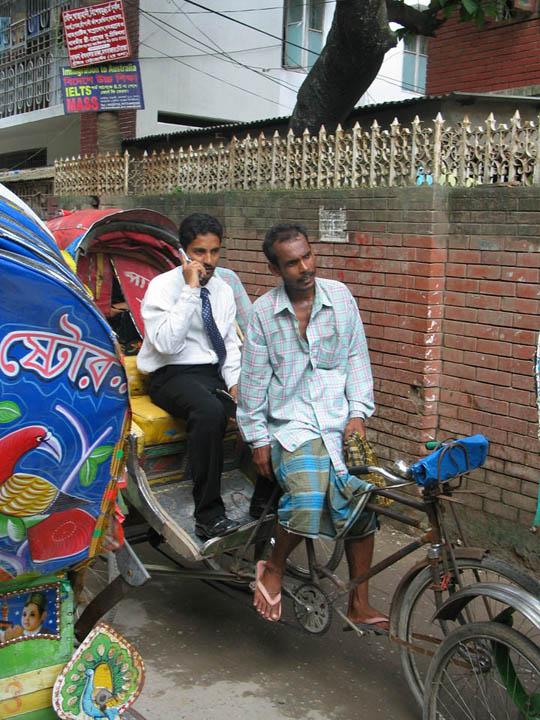 Tecnología y relaciones sociales en Bangladesh