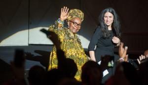 Menschenrechts – Preis für Alice Nkom, Kamerunische Aktivistin gegen die Diskriminierung von Homosexuellen