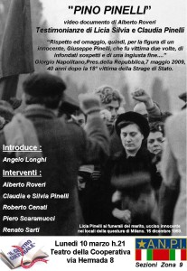 "Video documentario ""Pino Pinelli"""