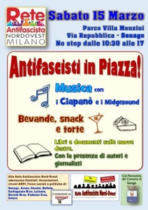 Antifascisti in piazza