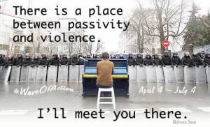 Wave of Action – nächste Welle gewaltlosen Protestes rollt an
