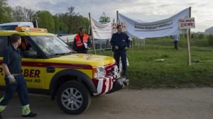 Polizei löst Protestcamp der Fahrenden in der Schweiz auf