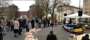 Echte Demokratie gesucht! Occupy-Kundgebung in München