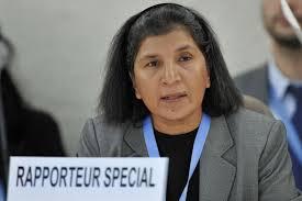 UN Special Rapporteur Rashida Manjoo says UK has 'sexist culture'