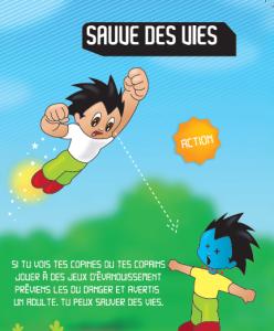 Agir face aux jeux dangereux à l'école