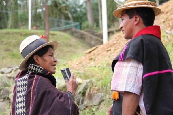 In Bolivia, being a journalist and organizer go together