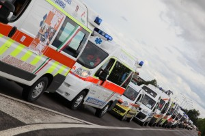 Disdetta ai telepass delle ambulanze: il volontariato in piazza