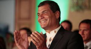 Presidente Rafael Correa cuenta con 75% de popularidad