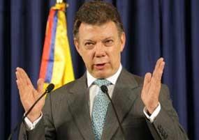 Presidente colombiano reafirma su esperanza de llegar a la paz