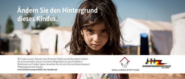 55.000 niños sirios serán evacuados de la zona de guerra a Alemania