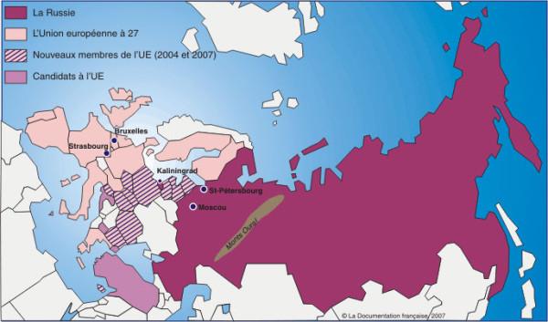Le mur de Bruxelles, tentative de L'OTAN de séparer la Russie de l'Europe