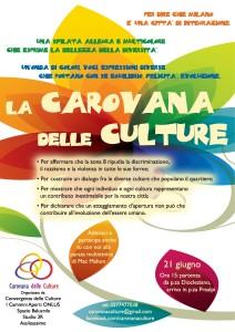 Carovana delle Culture a Milano il 21 giugno